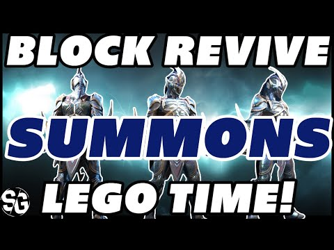 10x Block revive summons! RAID SHADOW LEGENDS LEGENDARY SUMMONS