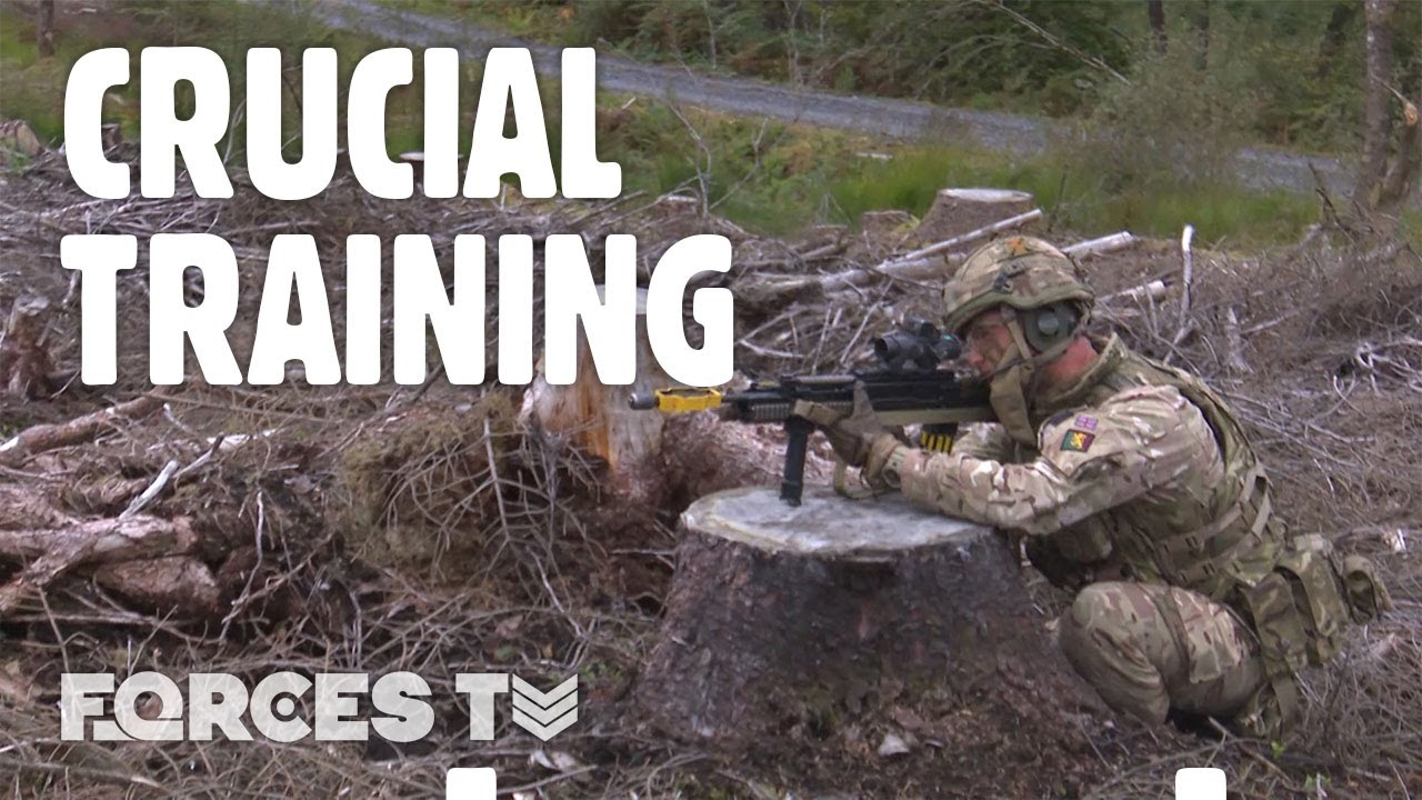 On Exercise with the Soldiers on Alert to Deploy within Days • Exercise Galloway Hackle