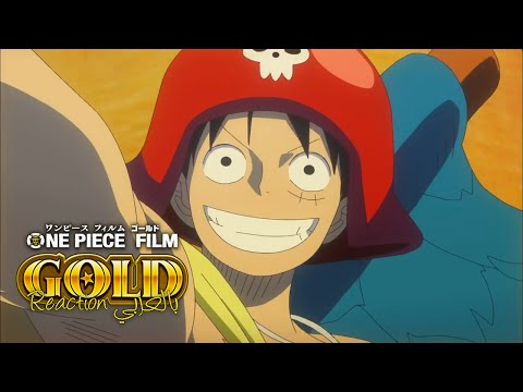 One Piece Gold Trailer Live Reaction بالعربي | ワンピースフィルムゴールド
