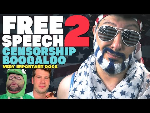 Free Speech 2: Censorship Boogaloo (Infowars, Steven Crowder) | Very Important Docs²³