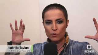 "Isabella Taviani grava o DVD ""Eu Raio-X"" no Imperator"