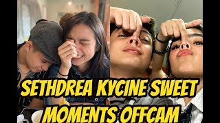 LAMBINGAN MOMENTS ng Kycine at SethDrea OffCam Kadenang Ginto September 23 2019