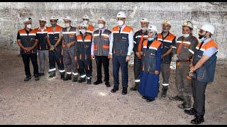 Aziz Rabbah effectue une visite à la mine de sel de Mohammedia