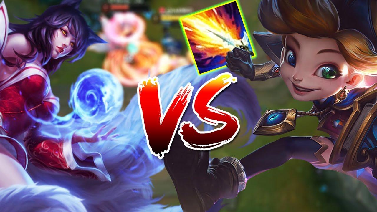 Amaz - Zoe vs Ahri Mid Non-Stop Fighting - Amaz League of Legends