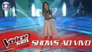 Joyce Mendes canta 'I Have Nothing' no The Voice Kids Brasil - Shows ao Vivo