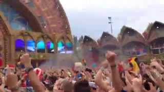 DVBBS Tsunami Live @ Tomorrowland 2014