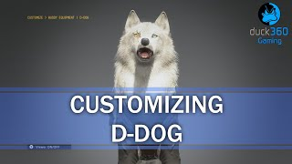 Customizing D-Dog - Metal Gear Solid V: The Phantom Pain