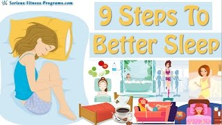 9 Tips How To Sleep Better! How To Fall Asleep Fast!