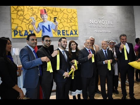 Video : AccorHotels inaugure le premier Novotel de Mohammedia