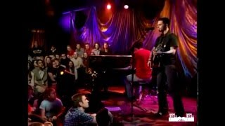Dashboard Confessional Screaming Infidelities MTV Unplugged **SYNCHRONIZED AUDIO**