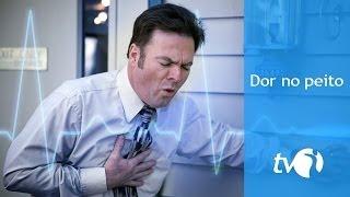 Dor no peito pode ter origem no coração, no pulmão e no estômago