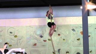 Rope Climbing 10 year old! Learn How Climb Rope in Palm Harbor!