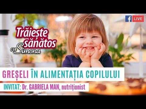 Greseli in alimentatia copilului
