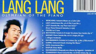 Rhapsody on a theme of Paganini (played by Lang Lang 郎朗)