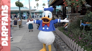 Donald Duck at Disney's Hollywood Studios Walt Disney World 2017
