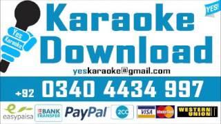 Unki nazron se mohabbat ka - Karaoke - Runa Laila - Pakistani - Yes Karaoke