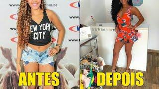 ANTES E DEPOIS DE TODAS INTEGRANTES DO BONDE DAS MARAVILHAS 2018