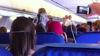 In-flight musical performance on KLM