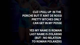 Nicki Minaj - Stupid Hoe (Lyrics Video)