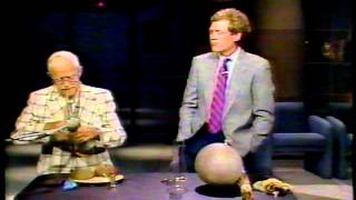 Disney Sound Effects Master on 80's Letterman Show