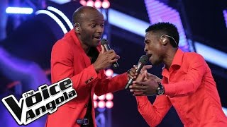 Luis Sebastian vs. Julião Alberto Chawaco / As Batalhas / The Voice Angola 2015