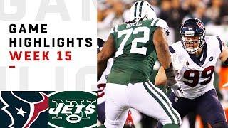 Texans vs. Jets Week 15 Highlights   NFL 2018