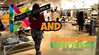 Mall Of America: Shopping, Nickelodeon Universe + More!
