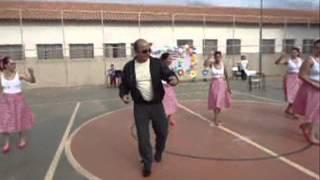 coreografia  com a música de John Travolta e Olivia Newton - Summer Nights