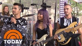 DNCE Frontman Joe Jonas Reveals What 'Cake By The Ocean' Means | TODAY