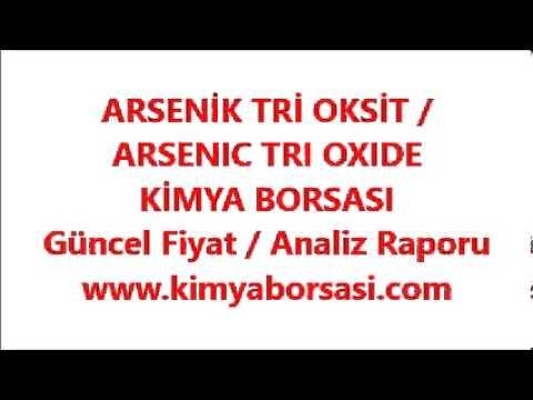 ARSENİK TRİ OKSİT / ARSENIC TRI OXIDE