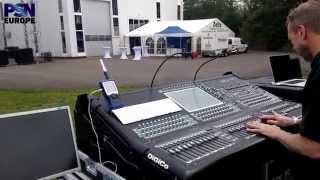 Ian Nelson mixes Placebo at Coda Audio AiRAY launch, Audiovation, Wenden