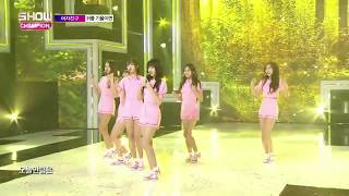 GFRIEND mistake while performing Love Whisper live