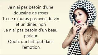 Nicki Minaj ft. Ariana Grande ~ Get On Your Knees ~ Traduction Française