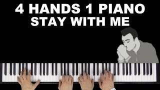 Sam Smith - Stay With Me (Cover by Many Hands Play Piano)
