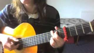 Amberlin (New Order) - True Faith classical guitar w/vocals cover