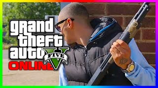 GTA 5 & GTA Online in Real Life! Epic Grand Theft Auto 5 Action Scenes! (Check Description)