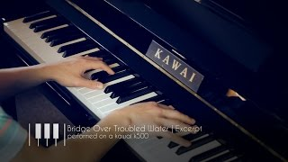 Kawai K-500 Upright Piano | Bridge Over Troubled Water Excerpt
