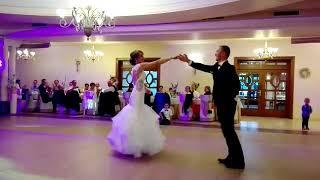 Pierwszy taniec Sylwii i Wojciecha Walc Wiedeński