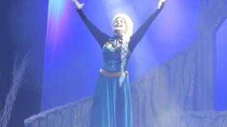 Musical Frozen no teatro Brigadeiro