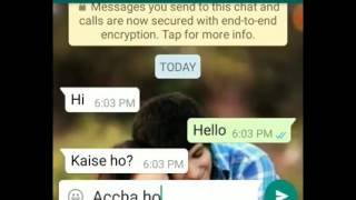 After breakup bewafa love😍😍😢😢😢.... girl and boy chit chat 😍😍awosme