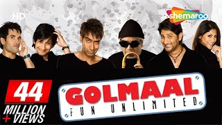 Golmaal - Fun Unlimited (2006)(HD+Eng Subs) Ajay Devgan, Arshad Warsi, Rimi Sen - Best Comedy Movie