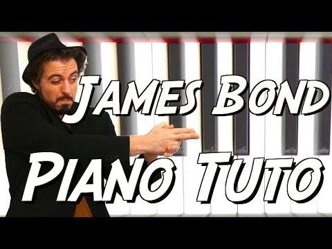 Comment jouer le thème de James Bond au piano
