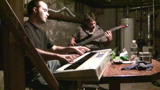 Travis and Steve jam on Bass and Piano - jazz style!