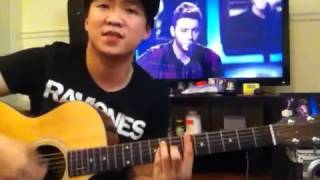James arthur Can't take my eyes off you- guitar cover