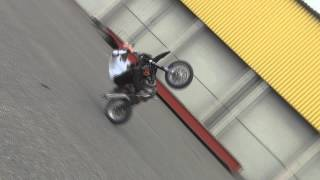 KTM 450 EXC Supermoto 1 o´clock wheelie