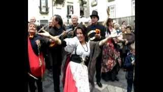 'A tazza e cafe'  -  Le voci per Napoli live