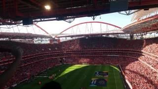Hino do Benfica - Ser benfiquista - Benfica vs Estoril - 29/04/2017