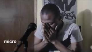 Haitiano anunciando a volta de jesus