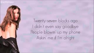 [LYRICS] Hailee Steinfeld - Hell Nos And Headphones
