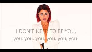 I don't need to be you - Barei - Lyrics